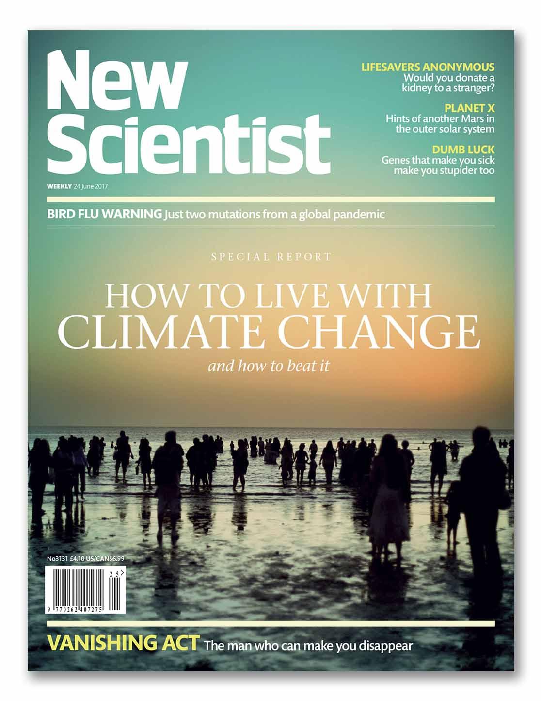 Junio, 2017. ¨Cómo vivir con el cambio climático y cómo vencerlo.¨ Serie de artículos centrados en el cambio climático.