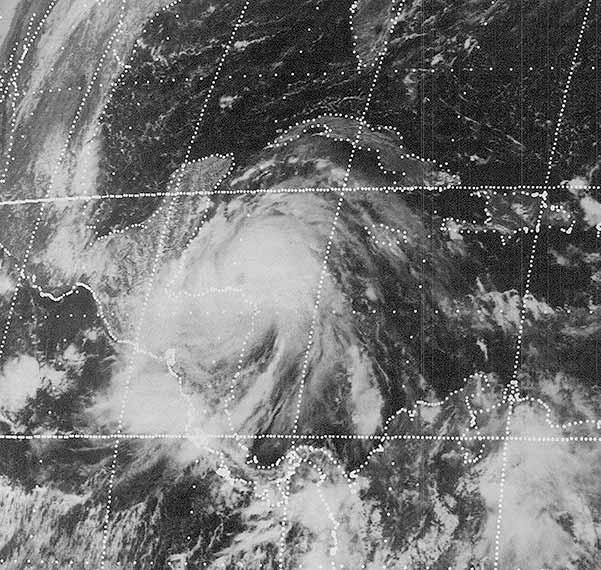 Línea de tiempo de huracanes